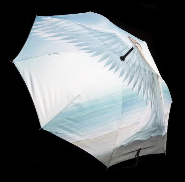 Regenschirm mit Engel - Spirit Guide by Anne Stokes
