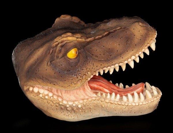 Dinosaur Wall Plaque - Tyrannosaurus Rex Head