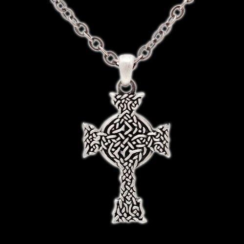 Halskette - keltisches Kreuz