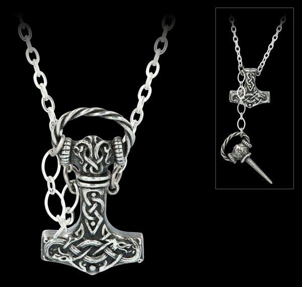 Alchemy Viking Necklace - Thor's Hammer Dagger
