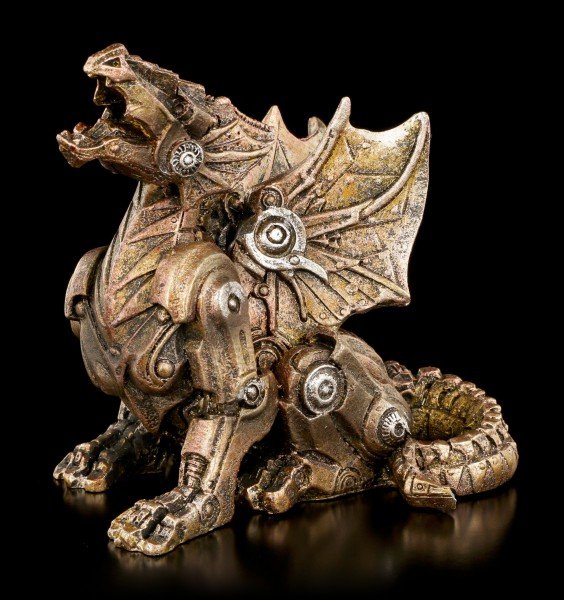 Small Steampunk Dragon Figure
