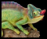 Garden Figurine - Chameleon on Branch