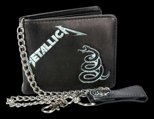 Metallica Wallet - Black Album