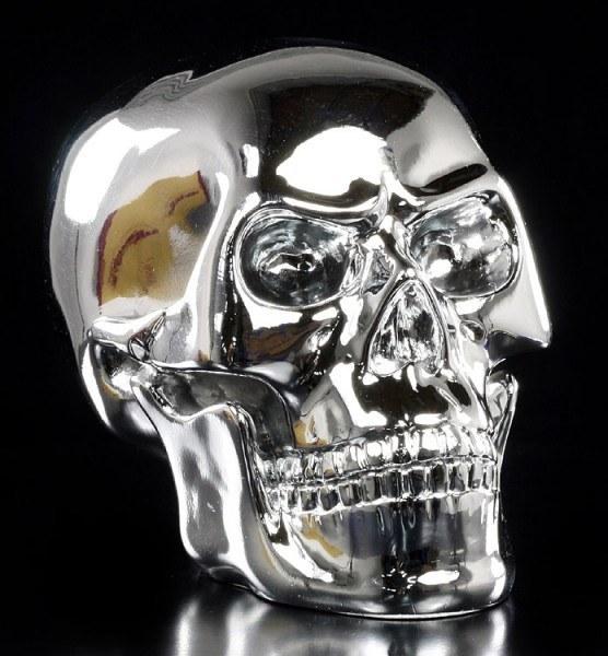 Angry Skull - chrome