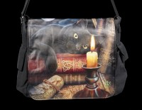 Messenger Bag with Cat - Witching Hour