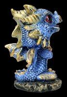 Bobble Head Figurine - Dragon Bobling - blue