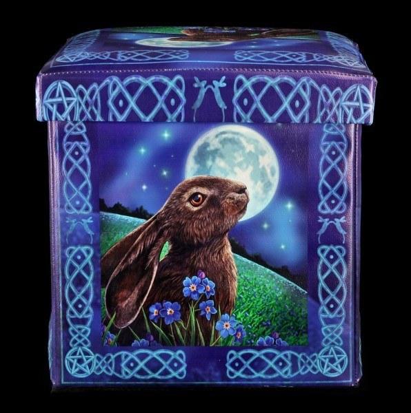 Aufbewahrungsbox mit Sitzgelegenheit - Moon Gazing Hare