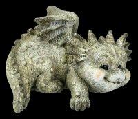 Dragon Garden Figurines Set - Lying