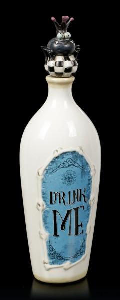 Keramik Deko Flasche - Drink Me