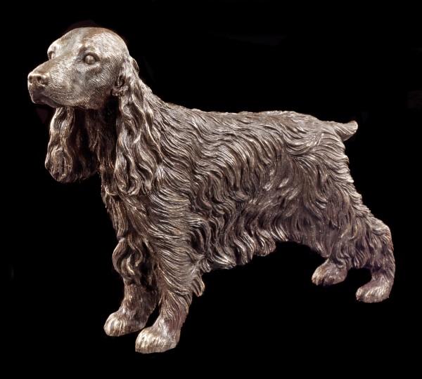 Hunde Figur - Stehender Cocker Spaniel