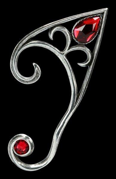 Alchemy Elves Earwrap - Elvyn left - silver