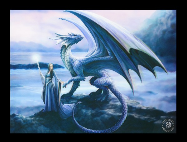 3D Picture with Dragon - New Horizon