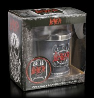 Slayer Shot Glass - Eagle Emblem