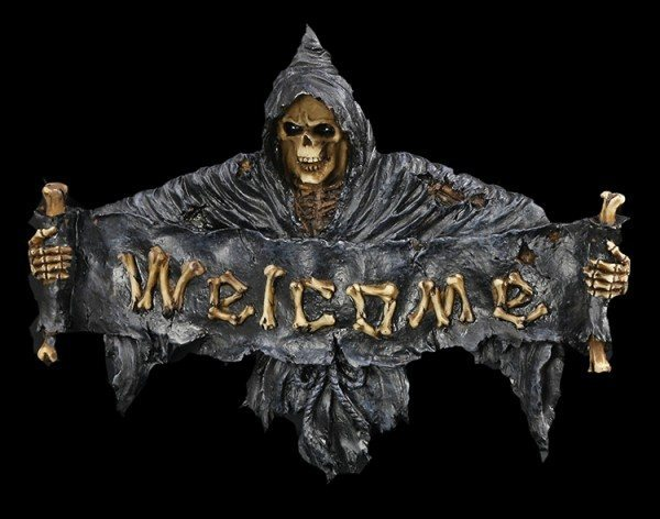 Grim Reaper - Welcome Sign