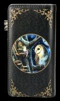 Geldbeutel mit Eule - Fairy Tales - geprägt