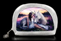 Make Up Bag with 3D Unicorn - Pure Heart