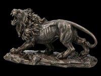 Große Löwen Figur brüllend