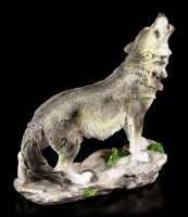 Wolf Figurine - Howling into the Night