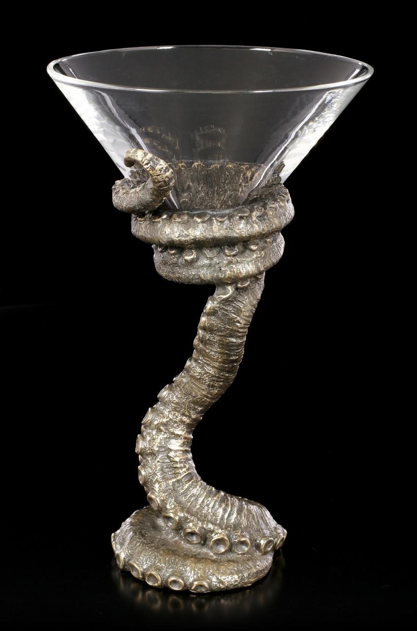 Martini Glas - Oktopus Tentakel