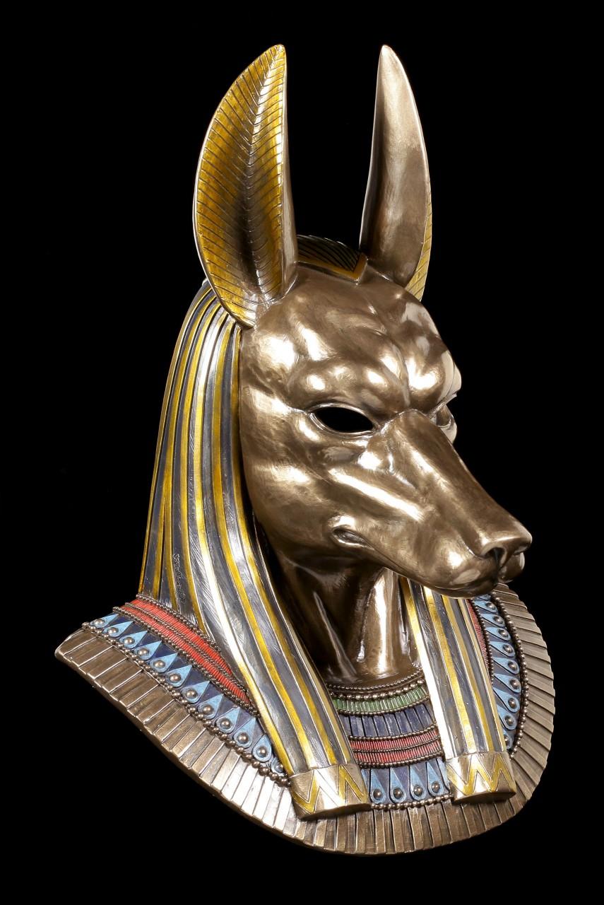 Egyptian God Mask - Anubis Head