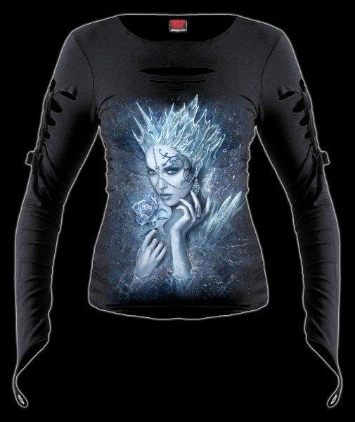 Langarmshirt Damen Fantasy - Ice Queen