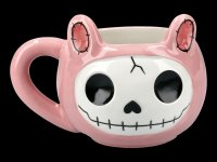 Furrybones Ceramic Mug - Pink Bun Bun