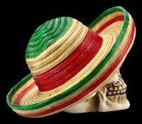Skull with Sombrero