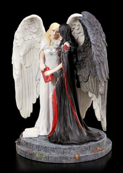 Engel Figur - Dark and Light Angel
