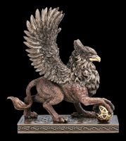 Griffin Figurine on Square Base