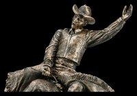 Cowboy Figurine on Bull riding