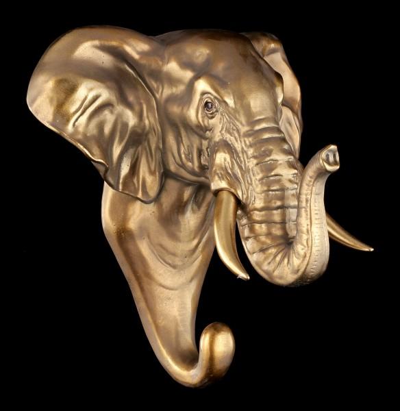 Kleiderhaken - Elefantenkopf