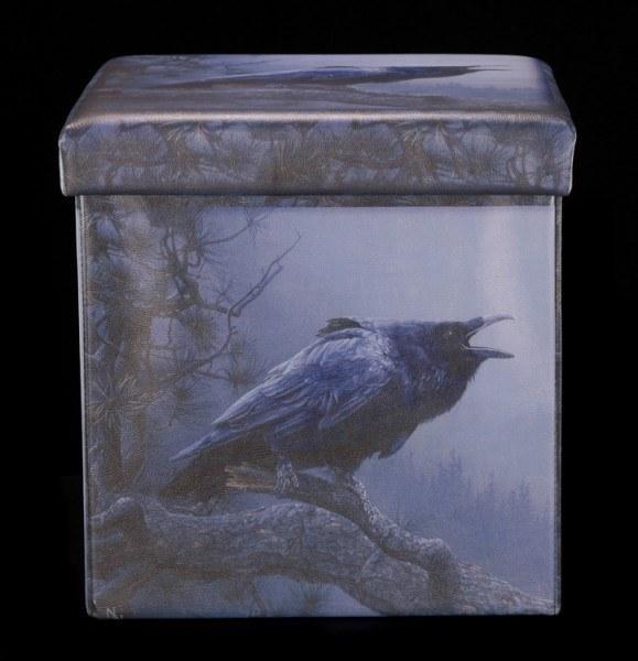 Aufbewahrungsbox mit Sitzmöglichkeit - Cry of the Raven