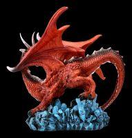 Drachen Figur - Roter Beschützer