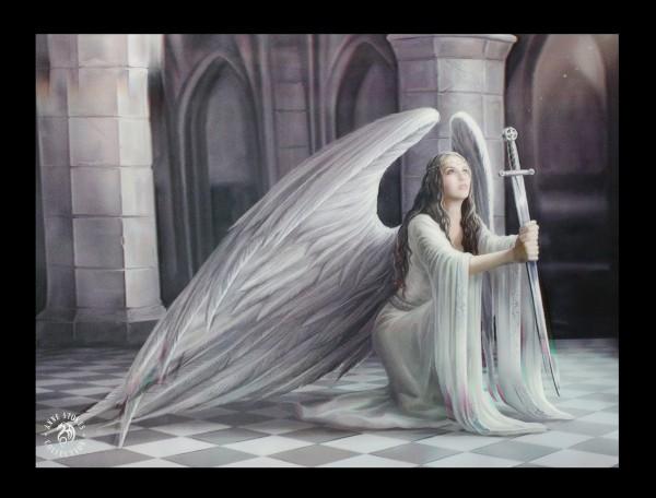 3D Bild mit Engel - The Blessing