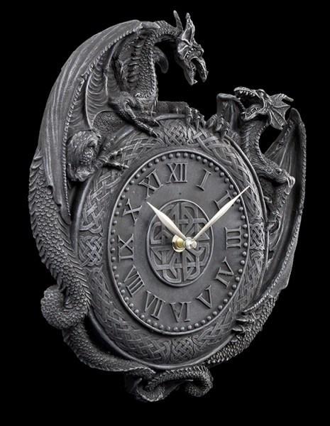 Duelling Dragon Clock