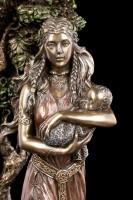 Danu Figurine - Celtic Goddess with Baby