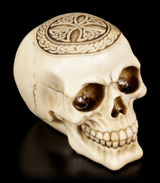 Skull - Celtic Cross Bone