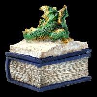 Drachen Schatulle - Bedtime Stories - grün