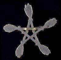Wall Plaque - Witch Broom Pentagram
