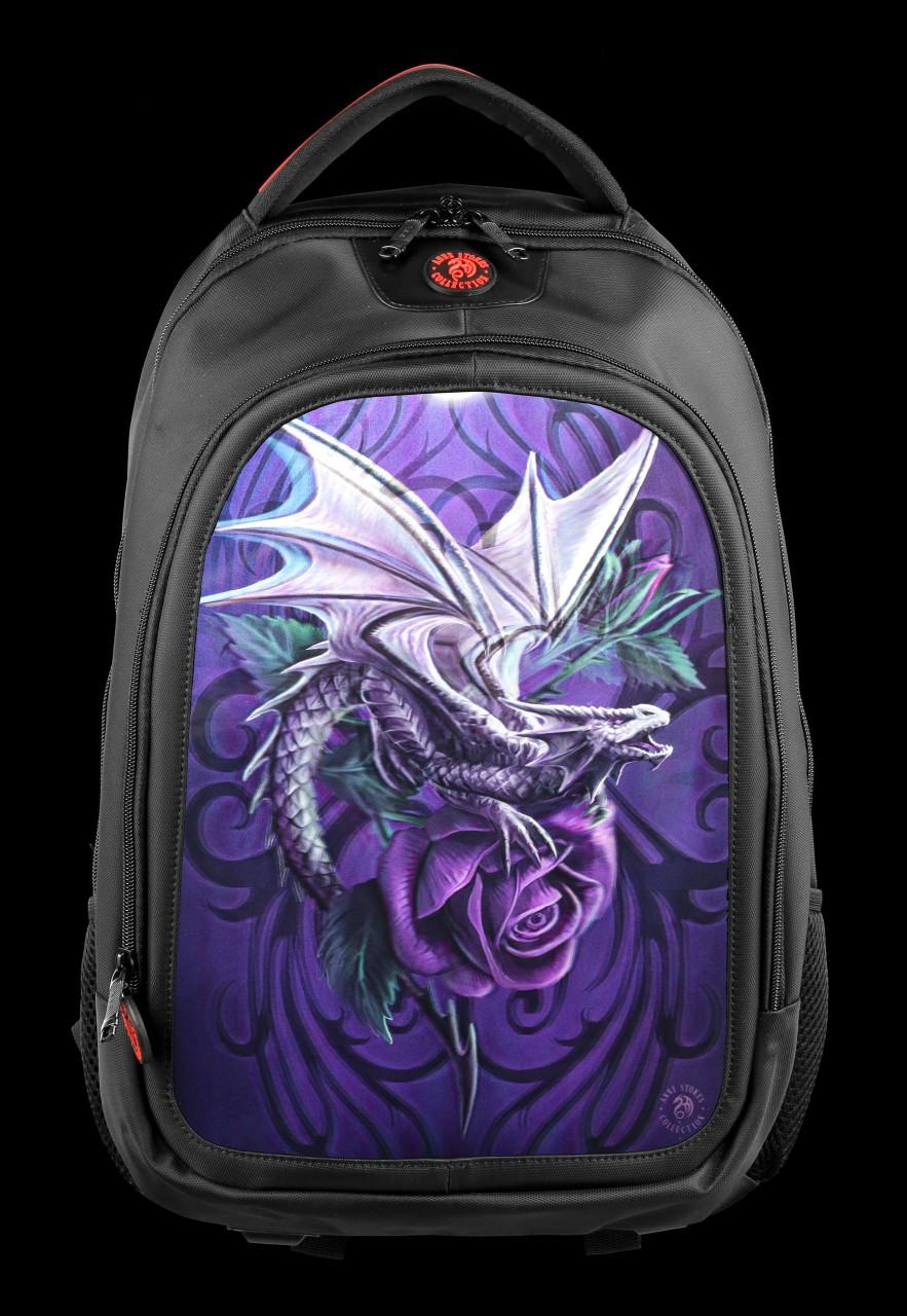 3D Rucksack mit Drache - Dragon Beauty
