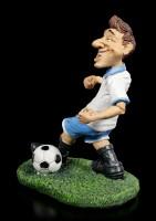 Funny Sports Figur - Fußballspieler im weißen Trikot