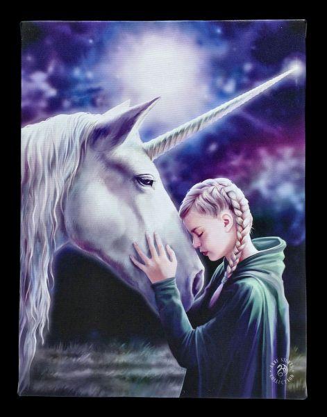 Small Canvas Unicorn - The Wish