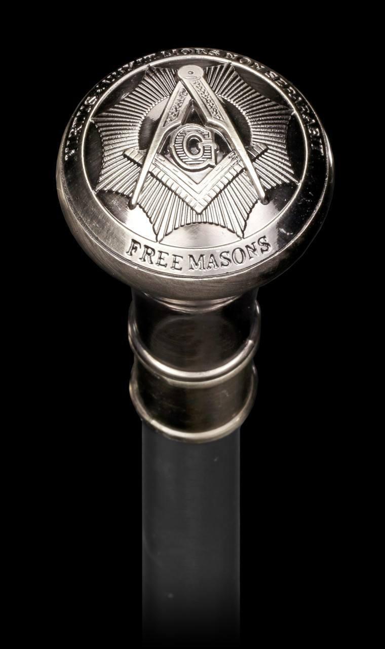 Swaggering Cane - Freemason - Metal