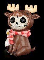Furry Bones Figurine - Spruce
