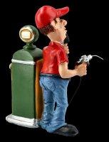 Funny Jobs Figur - Tankwart an Zapfsäule