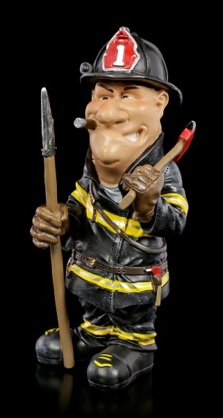 Funny Job Figurine - Fire Fighter