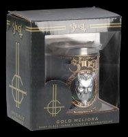 Ghost Schnapsbecher - Gold Meliora