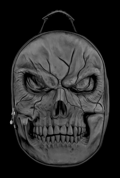 Totenkopf Rucksack mit Laptoptasche - Shadow Master