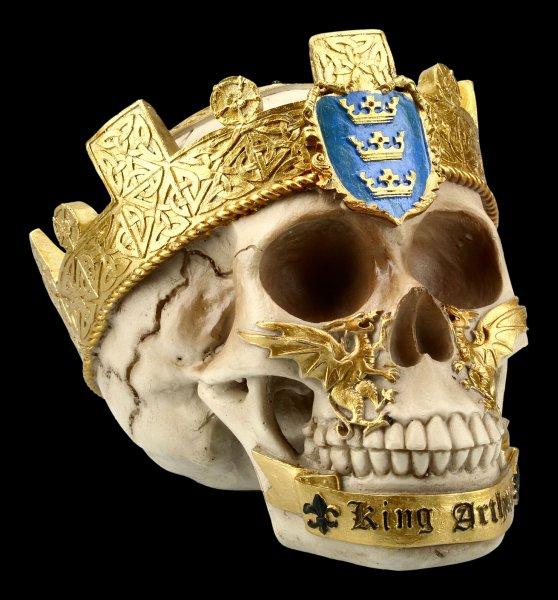 Totenkopf Ritter der Tafelrunde - König Arthur