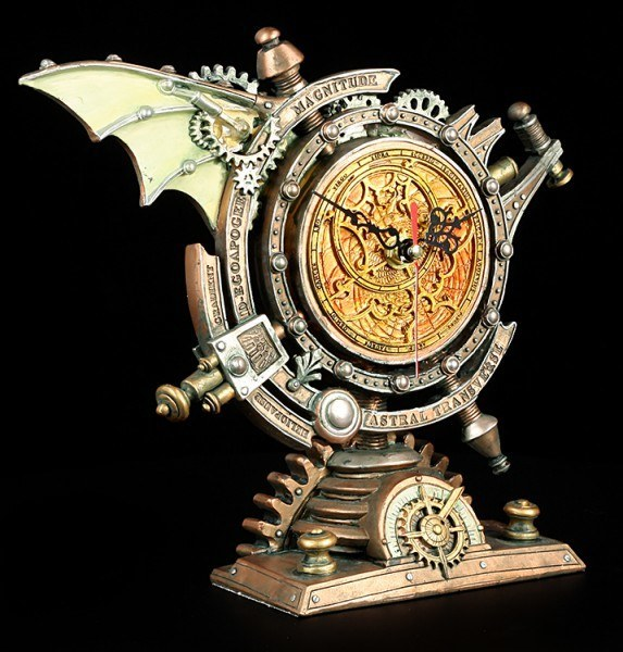 Alchemy The Vault - Table Clock